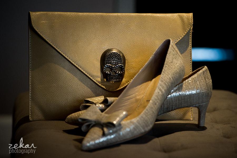 skull clasp purse