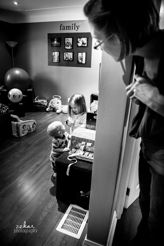 kids playing in playroom