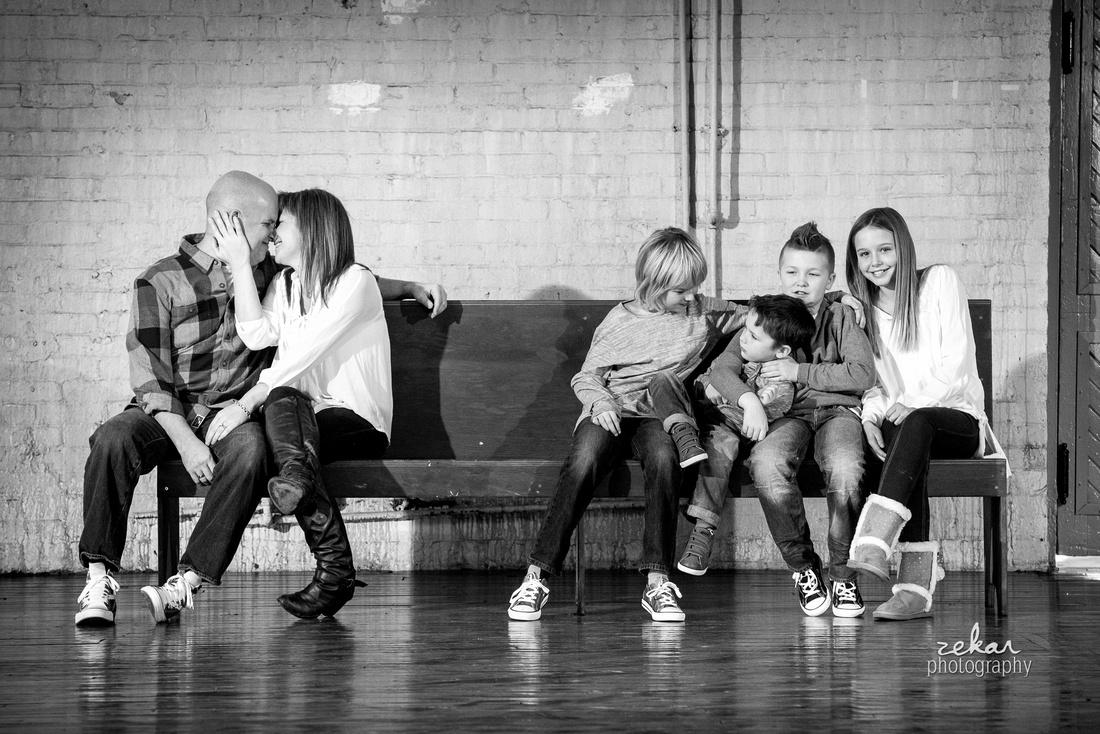 family of six photoshoot